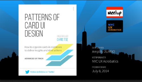 ui-patterns for Smartphones, Tablets und PC