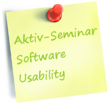Akitv-Seminar Software Usability