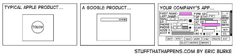 User Interfaces von Apple, Google and You by Eric Burke